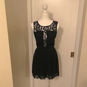 BCBGeneration Pleated Dress - Size 4 - Like New
